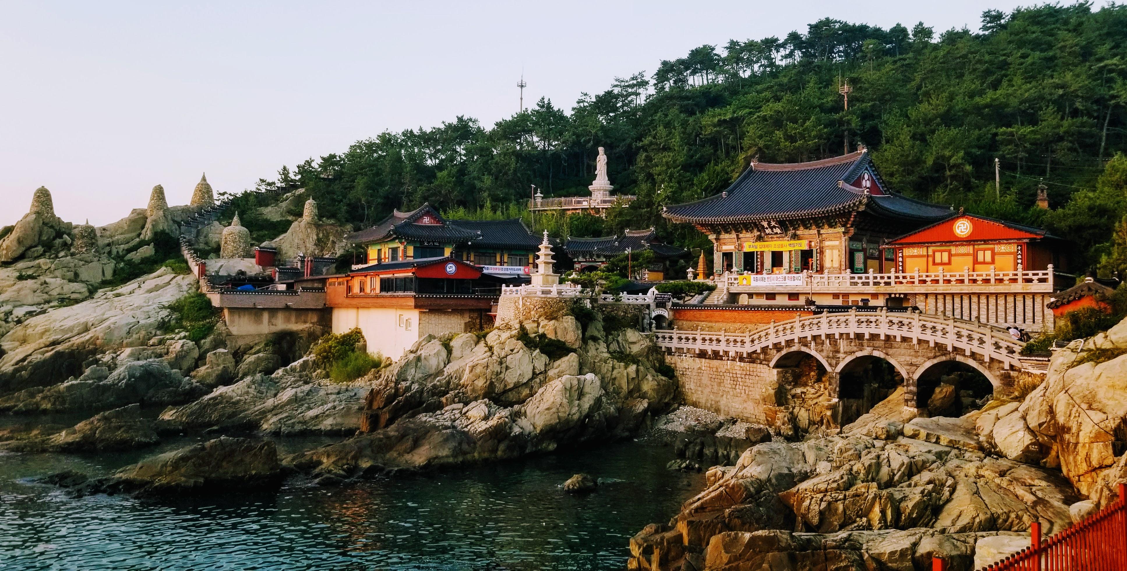 Haedongyonggungsa Temple at Sunrise